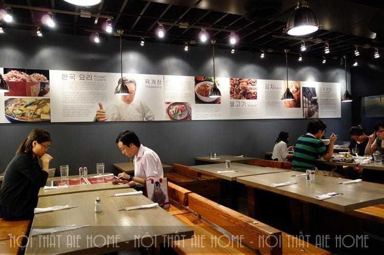 Thiết kế nhà hàng Hàn Quốc bạn biết chưa?