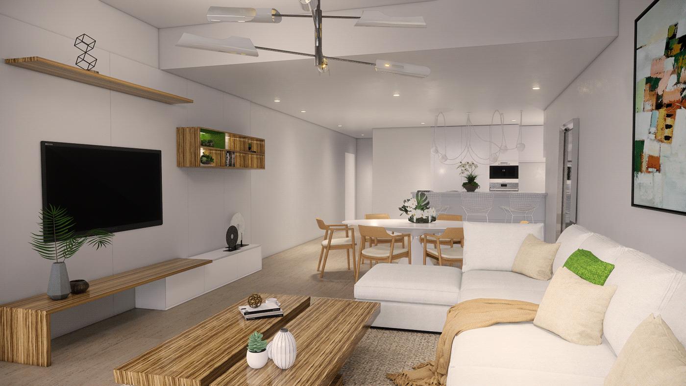 Thiết kế nội thất phòng khách đơn giản đẹp